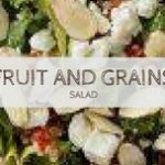 fruit and grains salad featured image