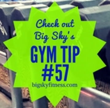 gym tip #57