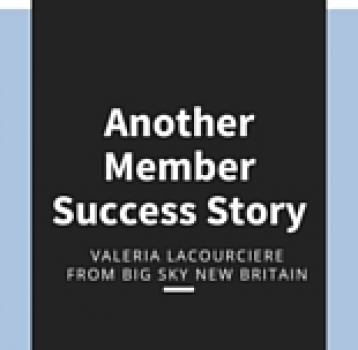 Another Member Success Story!