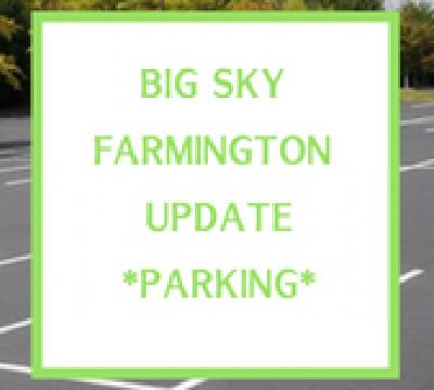 Farmington Update – Parking