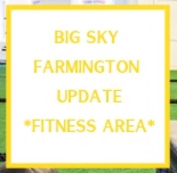 Farmington Update– Functional Training Area