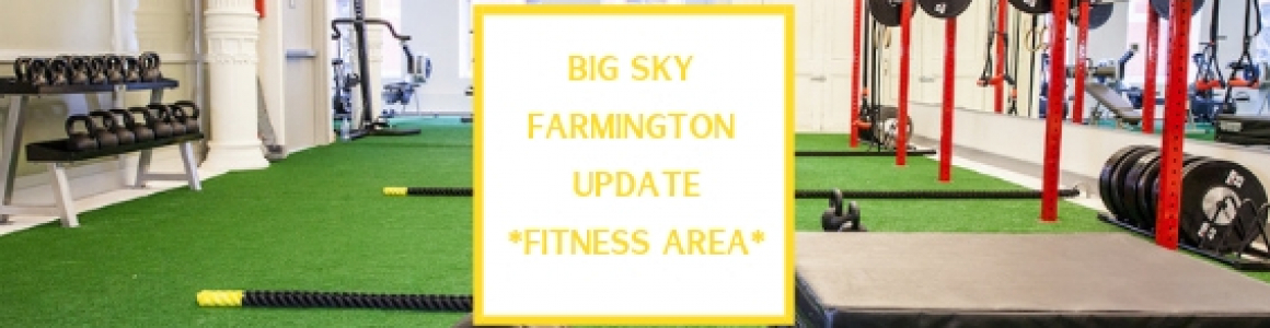 Farmington Update– Functional Training Area