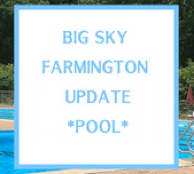 Farmington Update – Pools !