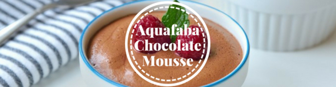 Aquafaba Chocolate Mousse