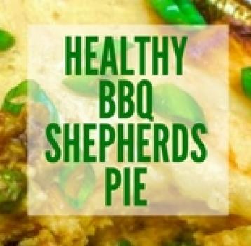 HEALTHY BBQ SHEPHERDS PIE