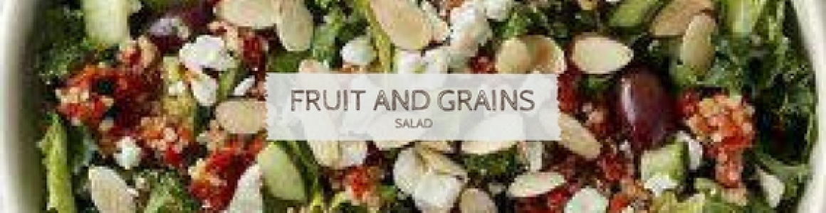 Fruit and Grains Salad