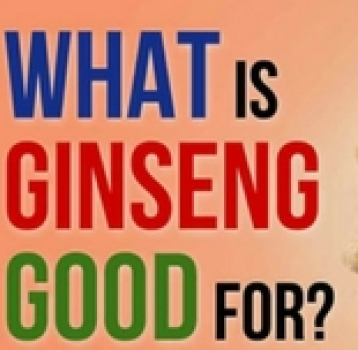 GINSENG DOES A MIND AND BODY GOOD!