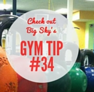 gym tip #34