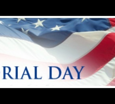 Memorial Day Hours 2018