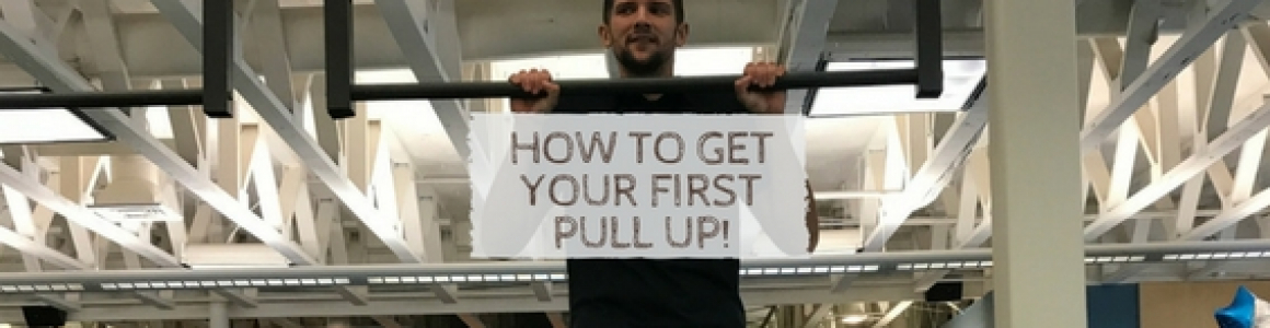 How to Get Your First Pull Up!